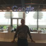 Niall Reck at Google Head Offices in London