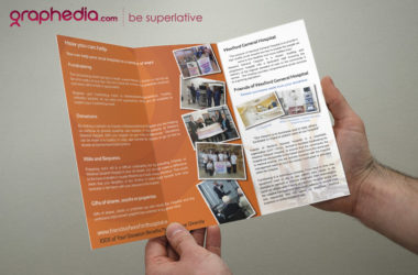 Friends of Wexford General Hospital Brochure Design