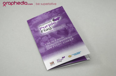 Purple Flag Brochure Design