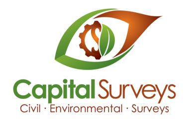 Capital Surveys Logo Design