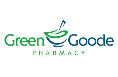 GreenGoode Pharmacy logo design