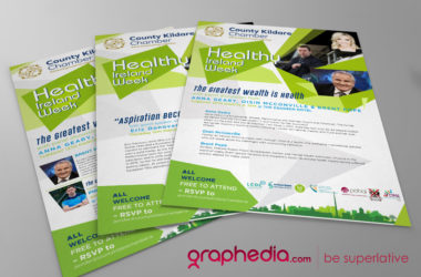 Healthy Ireland Flyer Design