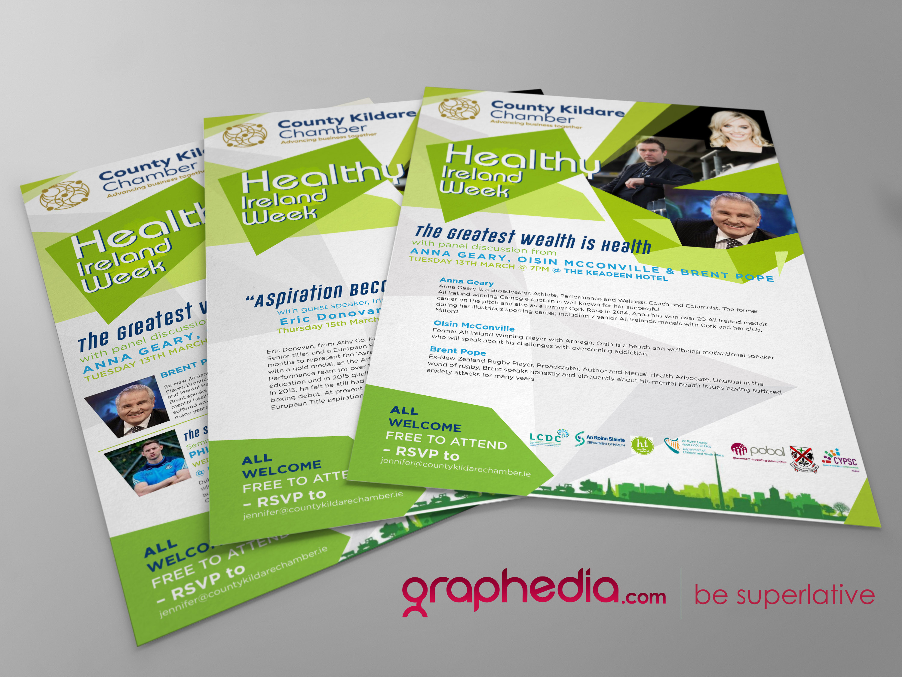 Healthy ireland flyer design graphedia healthy ireland flyer design reheart Gallery