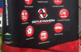 Doyle Mahon Pop Up Stand