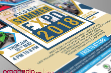 Kildare Summer Expo Flyer Design