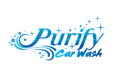 Purify Car Wash Logo Design