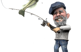 3D Character for Quirkey Boating