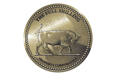 The Full Shilling Logo Design