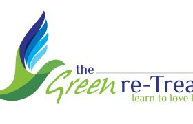 The Green Retreat Logo Design