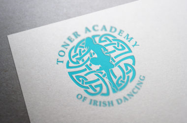 Toner Academy of Irish Dancing Logo Design