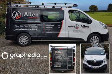 Allen Construction Van Design
