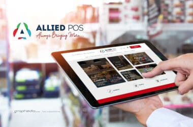 Allied Point of Sale Ecommerce Website