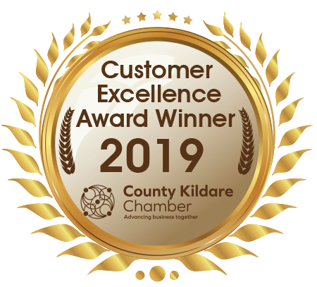 Cusomer Excellence Award 2019 - County Kildare Chamber