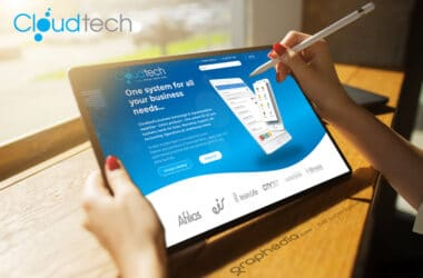 Cloudtech CRM Website Design