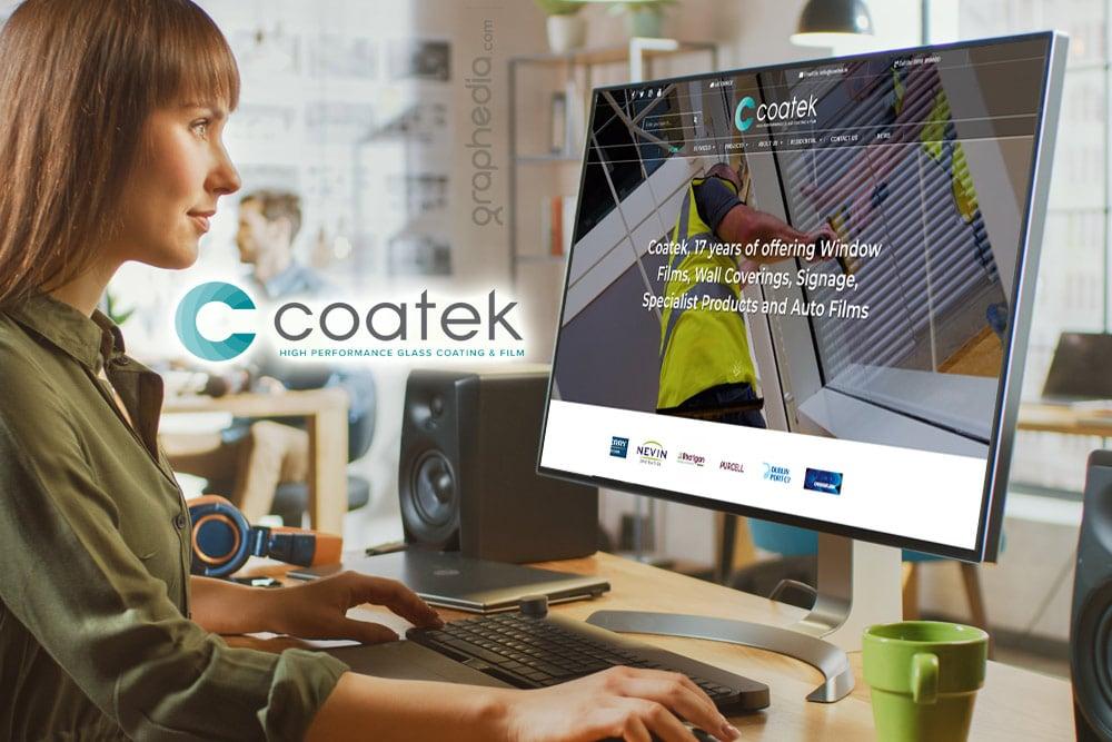 Coatek Ecommerce Website Design by Graphedia