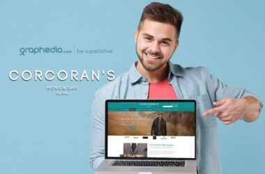 Corcorans Menswear Ecommerce Website Design