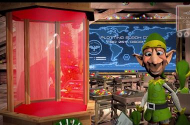 Santas Magical Trail Animated Elf Interactive Video