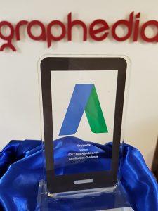 2017 EMEA mobile Ads Certification Challenge Winner