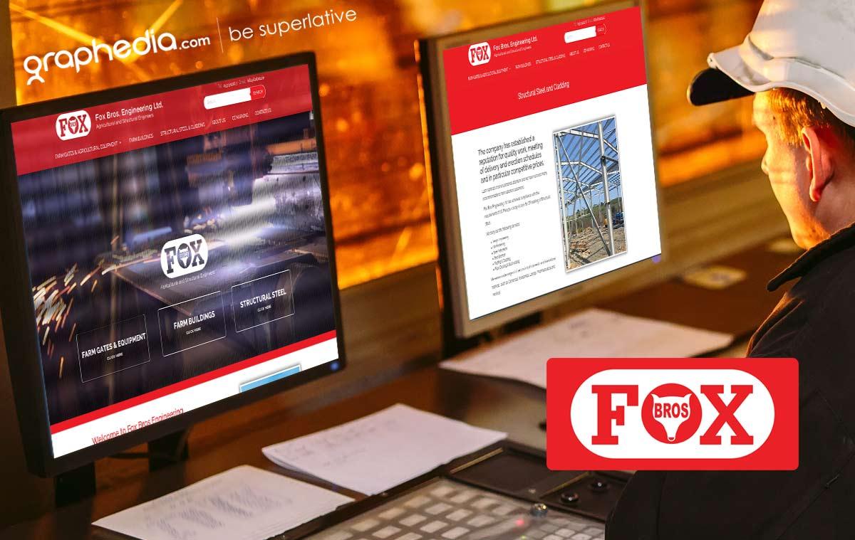Fox Bros Engineering Website Design