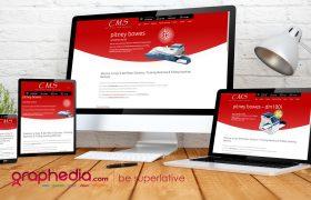 Website Design for Franking Machines Ireland