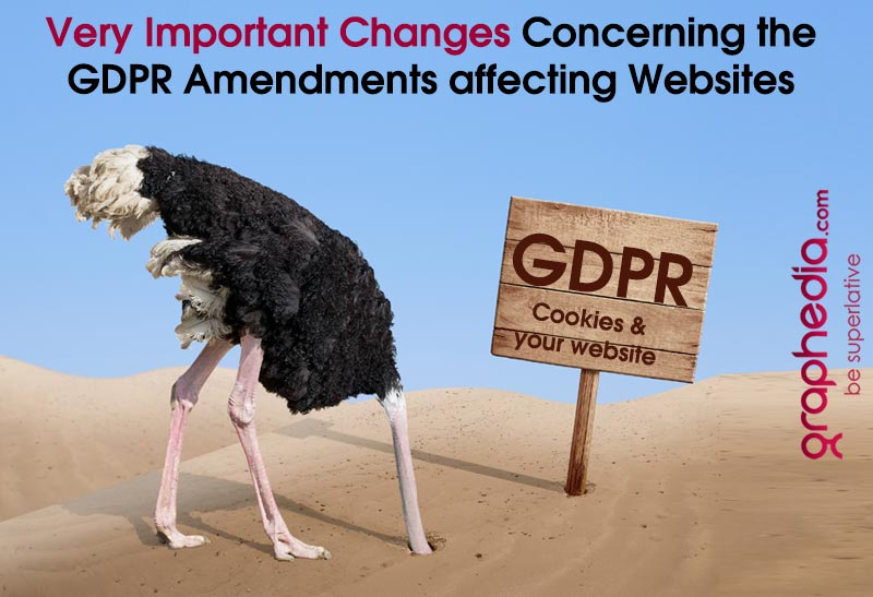 GDPR Cookie Policy on websites update