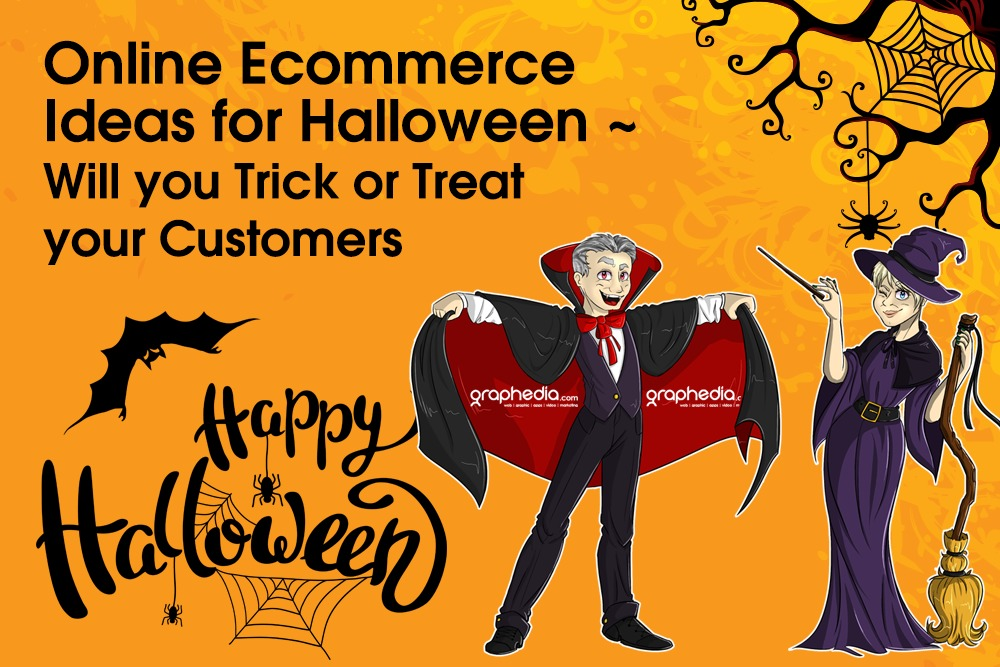 Online Ecommerce Ideas for Halloween ~ Will you Trick or Treat your Customers