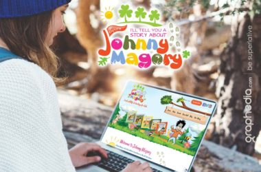 Ecommerce Website Design for Johnny MaGory Childrens Books