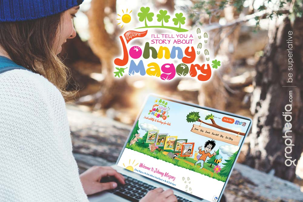 Johnny Magory's aim is to educate children globally on Irish heritage and wildlife
