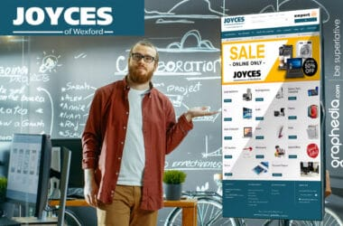 New Ecommerce Website Design for Joyces