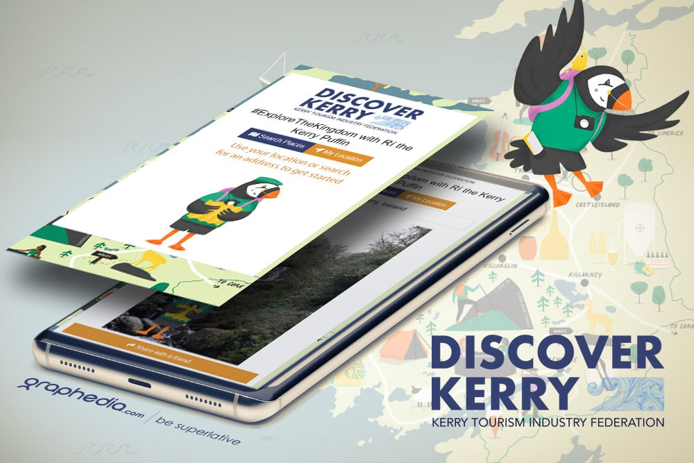 Discover Kerry Puffin Web App