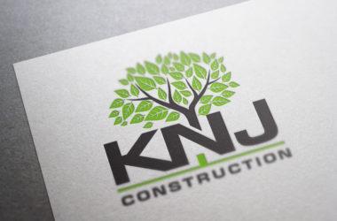 KNJ Logo Design