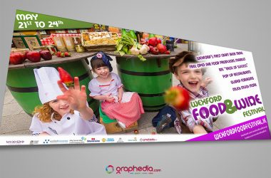 Wexford Food Festival Advertisement Banner
