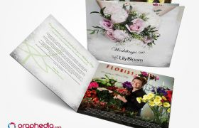 Wedding Brochure Design for Lily Bloom Florists