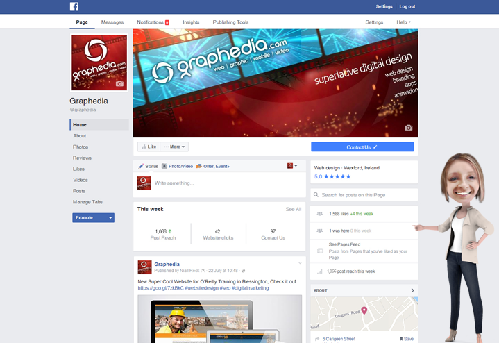 Facebook Business Pages Changes 2016 | Graphedia