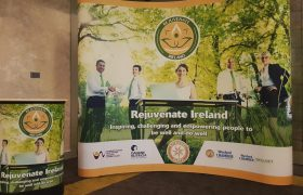 Rejuvenate Ireland Pop Up Display Stand