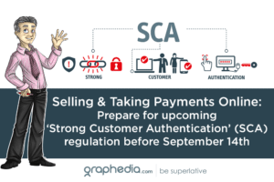 Selling & Taking Payments Online: Prepare for upcoming 'Strong Customer Authentication' (SCA) regulation before September 14th