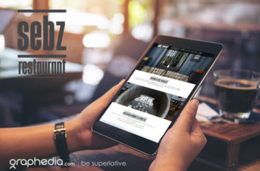 Sebz Restaurant Website Design