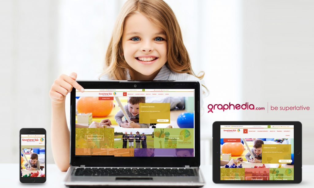 Sensational Kids Website Design Kildare