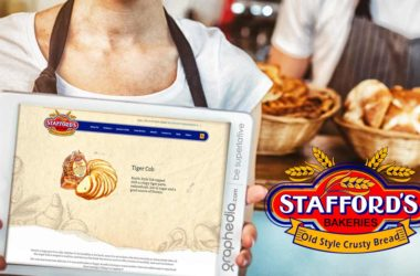 Stafford Bakeries Website Design