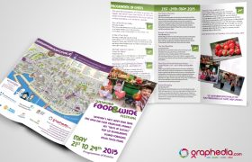 Wexford Food Festival Tri-Fold Flyer