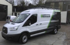 Cleary Doyle Construction Van Design