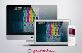 Wexford Business Awards 2017 Website Design & Branding