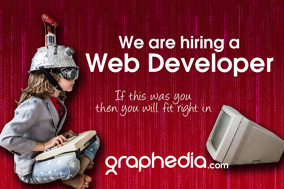 We are hiring a Web Developer