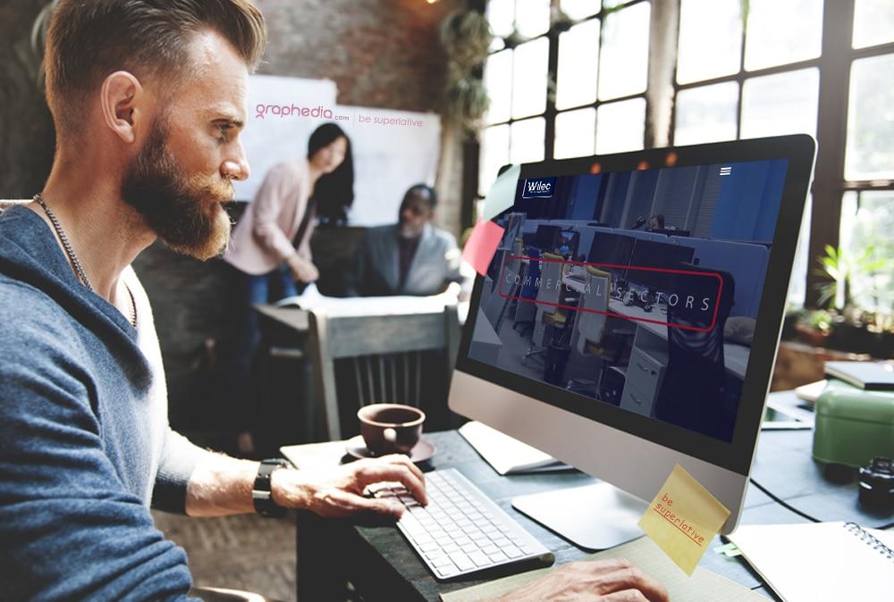 Wilec Website Design & Video Edit